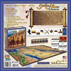 Stella Nova Board Game Box Back